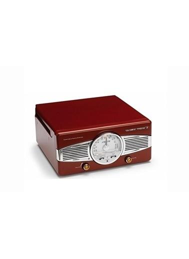 Lenco Classic Phono TT-28 R Dahili Hoparlörlü Retro Pikap Plak Çalar (Kırmızı) (Pikap İğnesi Hediye) Kırmızı